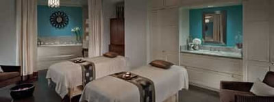 Commercial massage room